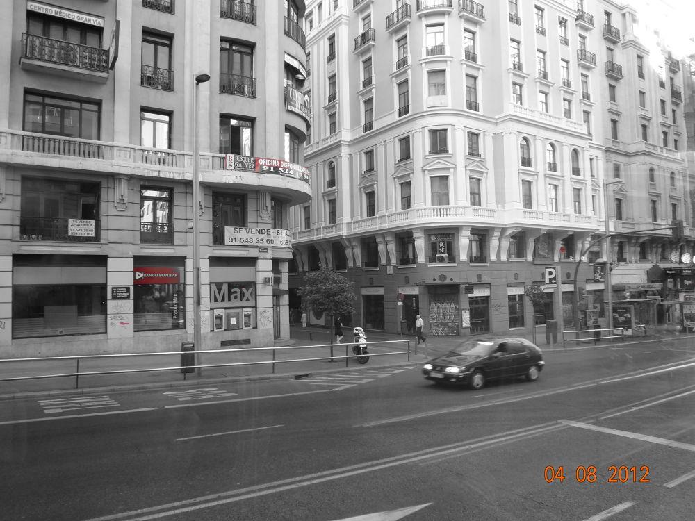 gran via, Madrid, Spain by GeorgiaKom