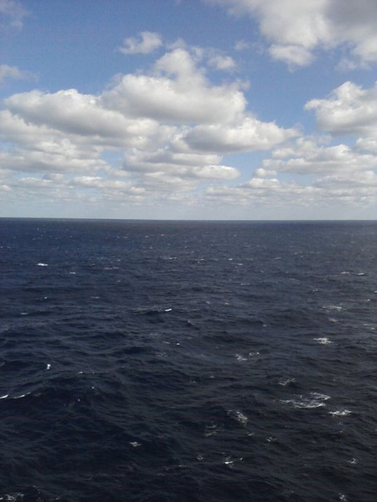out at sea-Gulf of Mexico by TellOfVisions