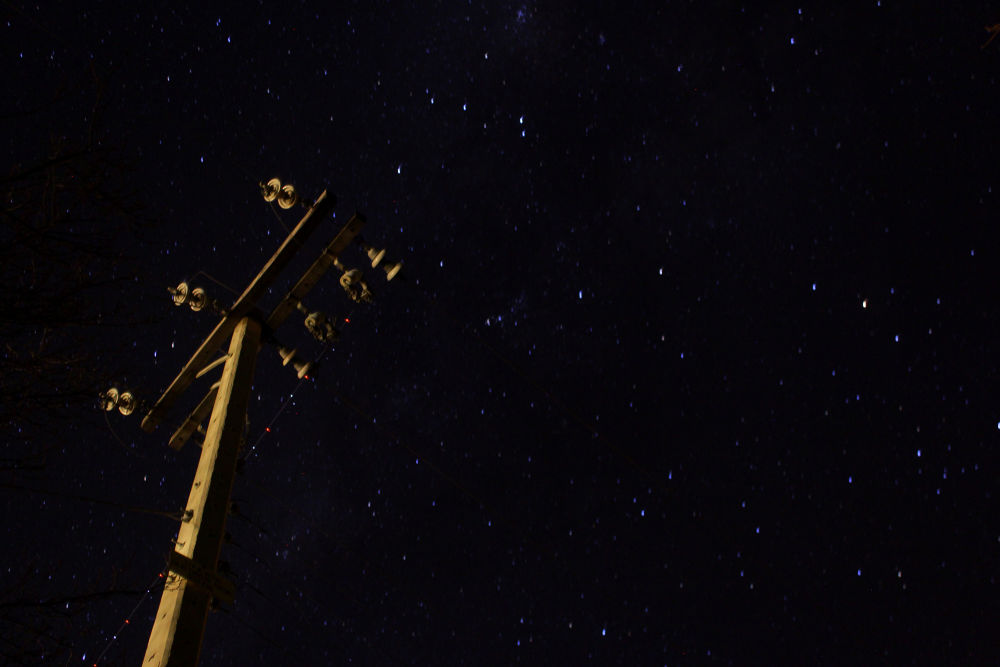 exterior espacial espacial estrellas que  nos iluminan by puntodenfoque