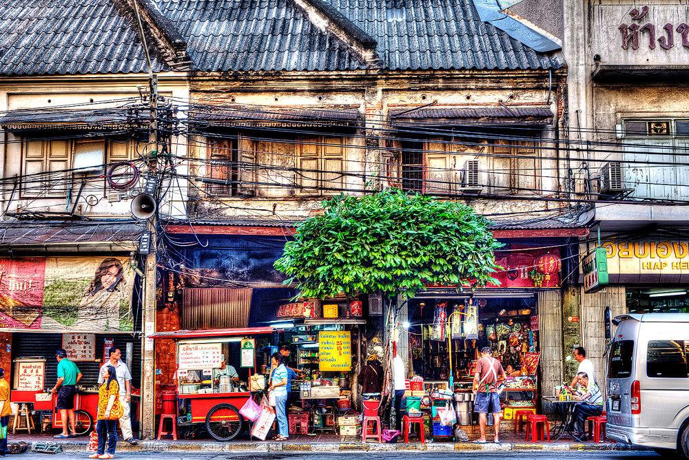 Chinatown, Bangkok, 2013 by Zeno Bresson