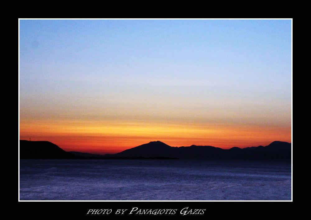 Beautiful sunset by PanagiotisGazis