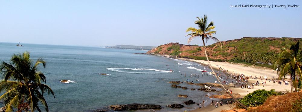 Vagator Beach, Goa, India by junaidzkazi