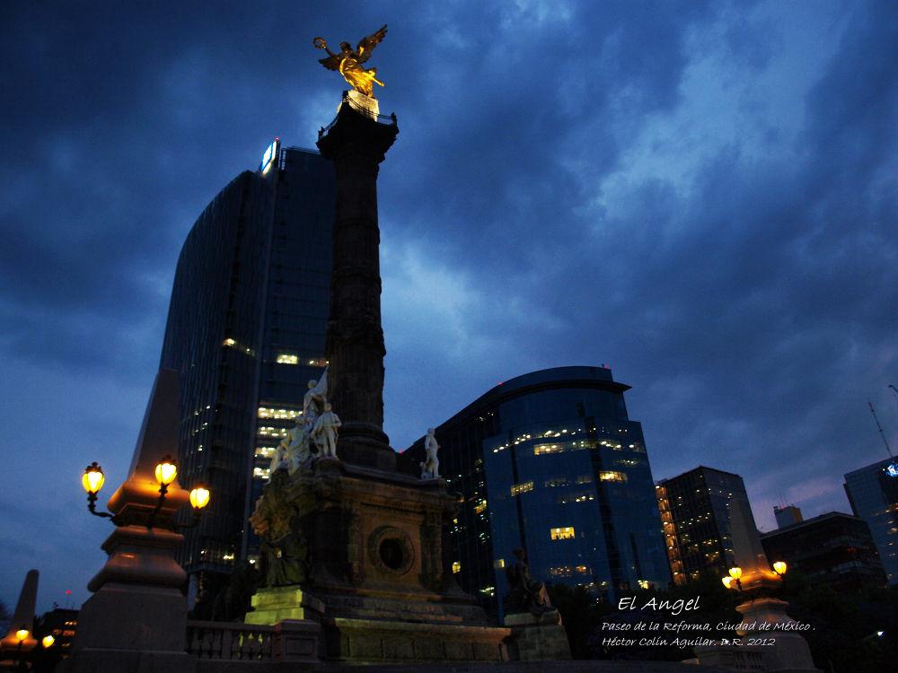 Photo in Landscape #landscape #méxico cty #nigth #city #urban #mexico