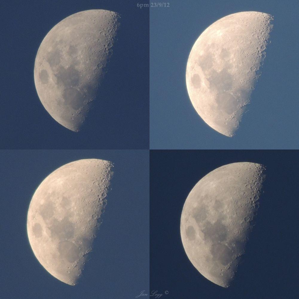 Moon 6pm Jan Legg © by leggie