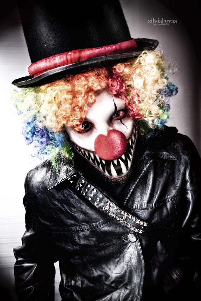 DarkyClown by SilviaLarras