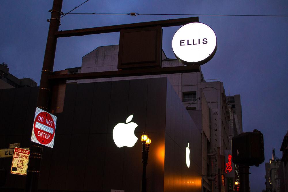 San Francisco, Apple Store by tamanm