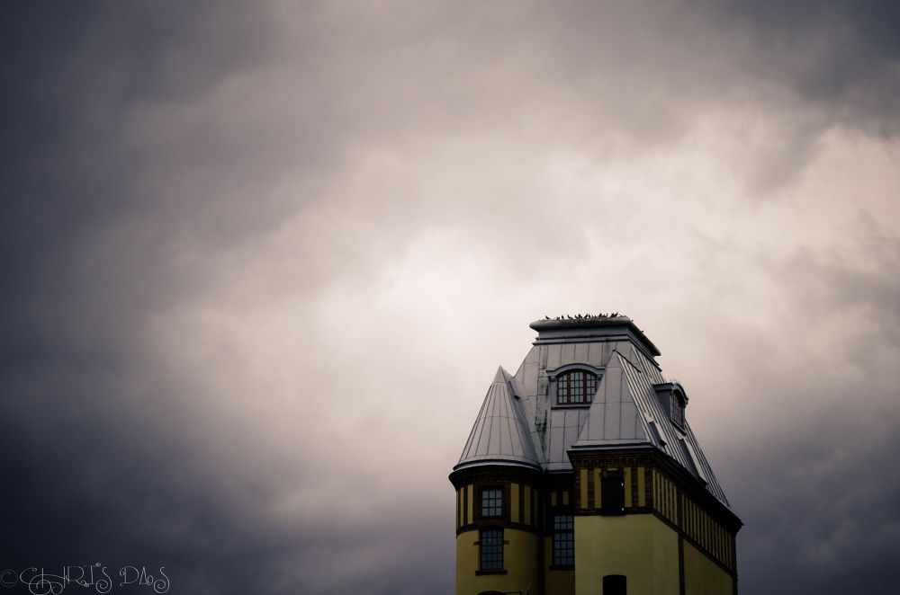 Photo in Random #tower #clouds #sky #cloudy #solitary