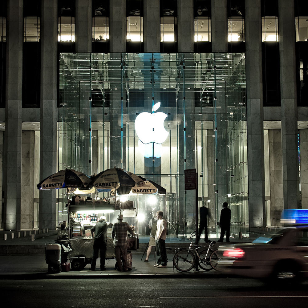 Photo in Random #apple #building #manhattan #new york city