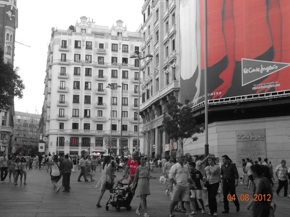 plaza calleo,Spain by GeorgiaKom