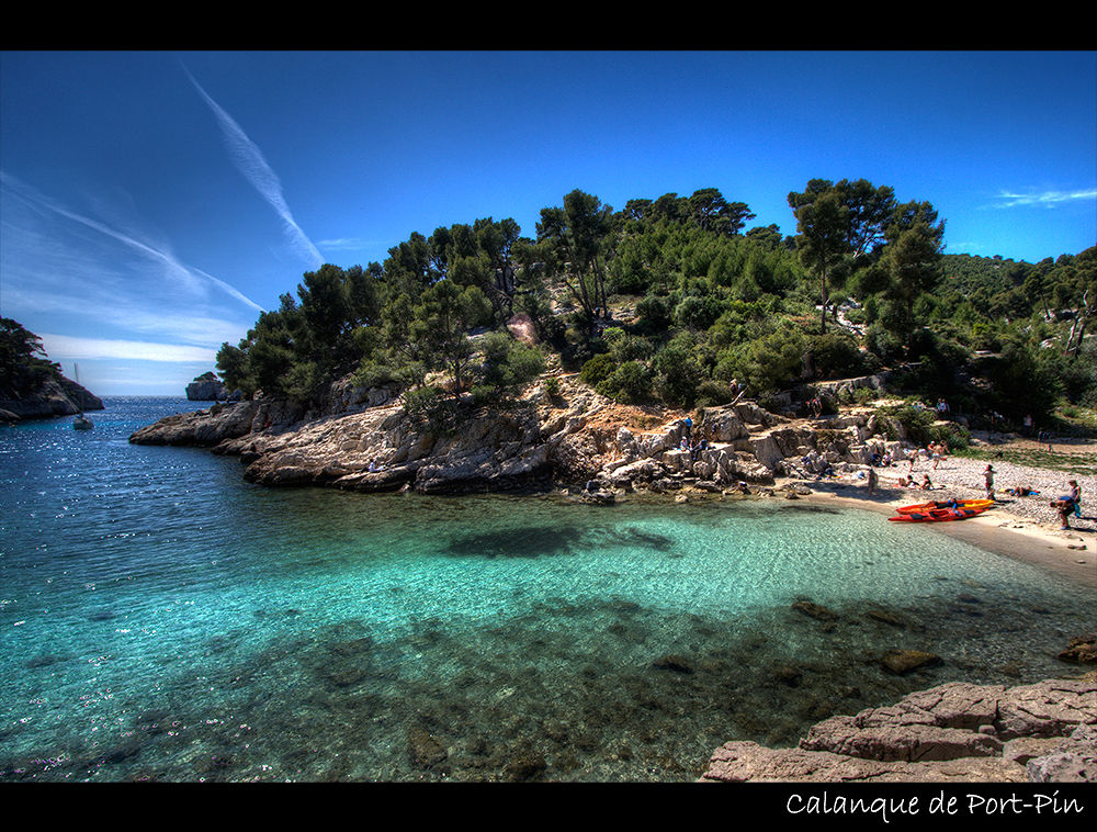 Calanque de port-pin by fotographiste