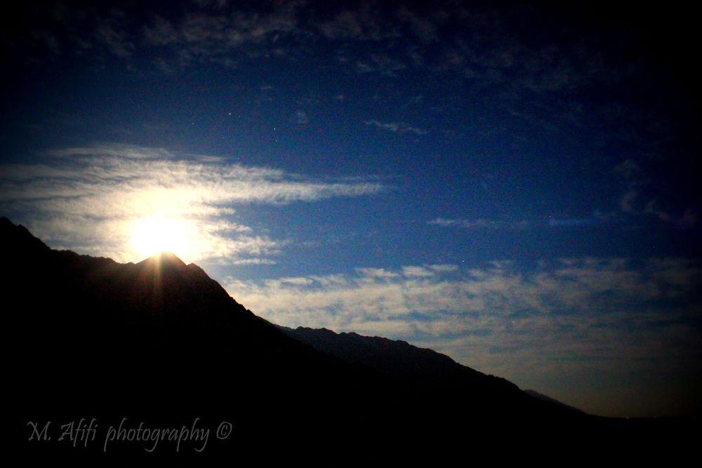 Moon light by M. Afifi
