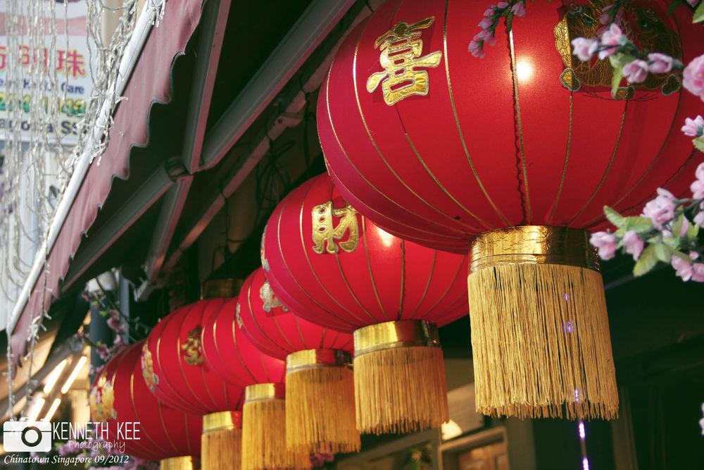 Street of Chinatown Singapore by chengjun