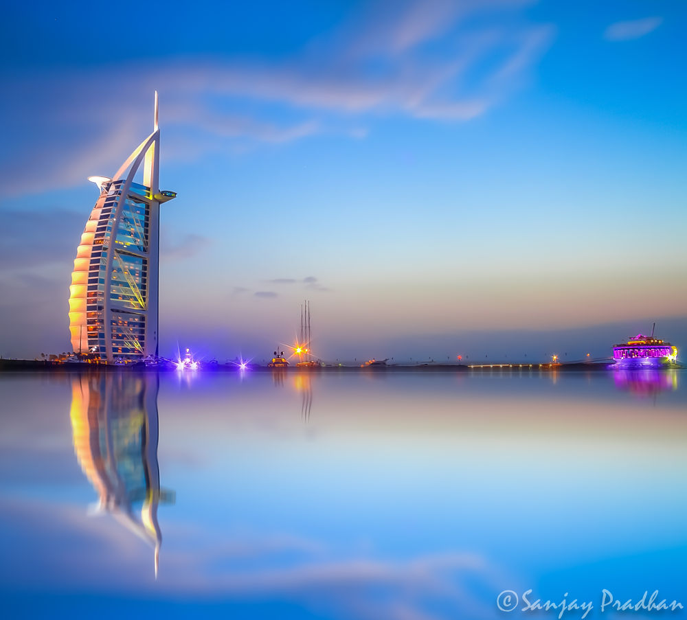 Burj Al Arab by Sanjay Pradhan