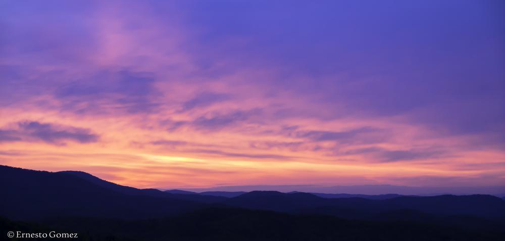 Blue ridge Mountains NC by Ernesto Gomez