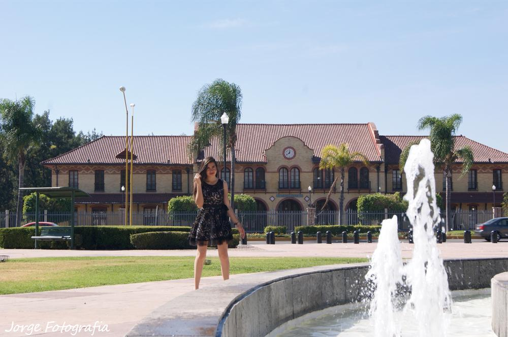Photoshoot Katia Anaya. Train Station Aguascalientes. México. by OriginalsReverPhotography