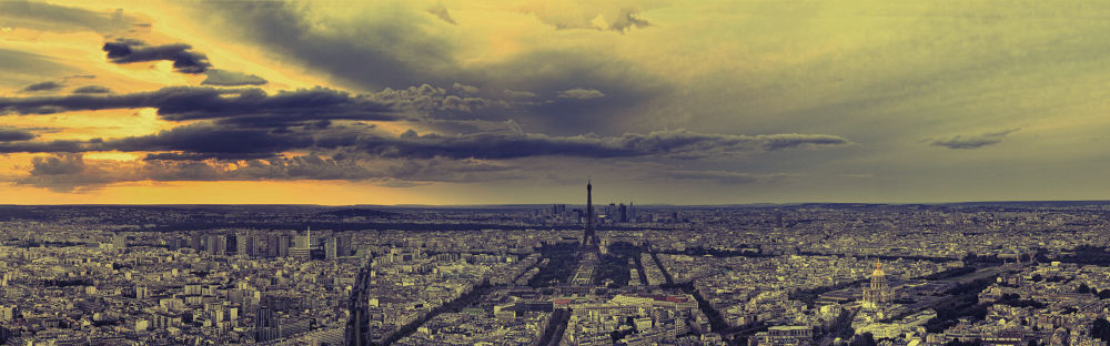 PARIS panoramic by klepherone