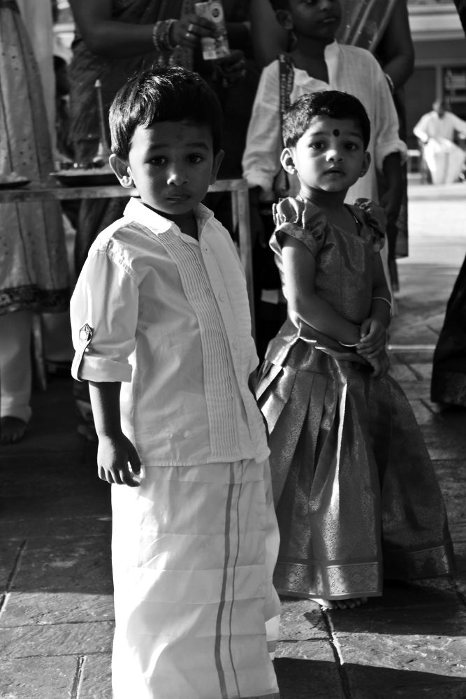 Photo in Wedding #indian wedding #tamil wedding #malaysian #malaysian tamil #kids #traditional #tamil kids #asian #asia #wedding #balck and white