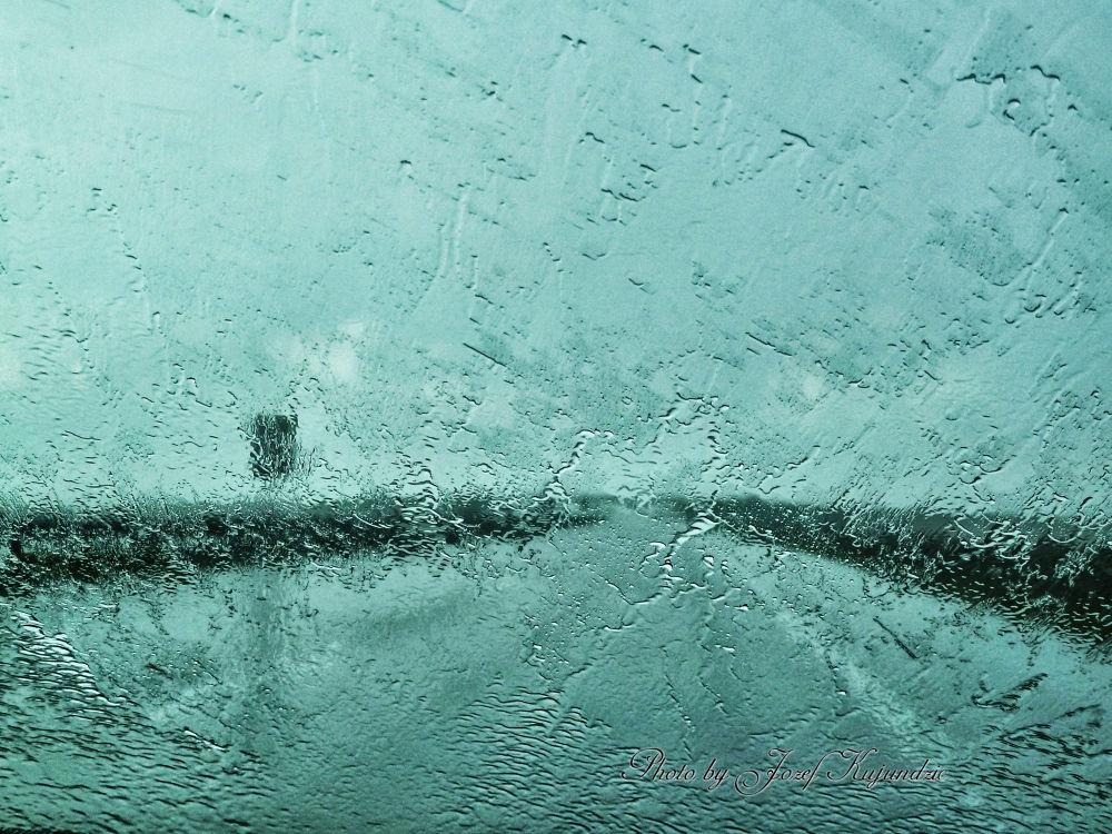 Windshield VS Rainstorm :) by Jozef Kujundzic