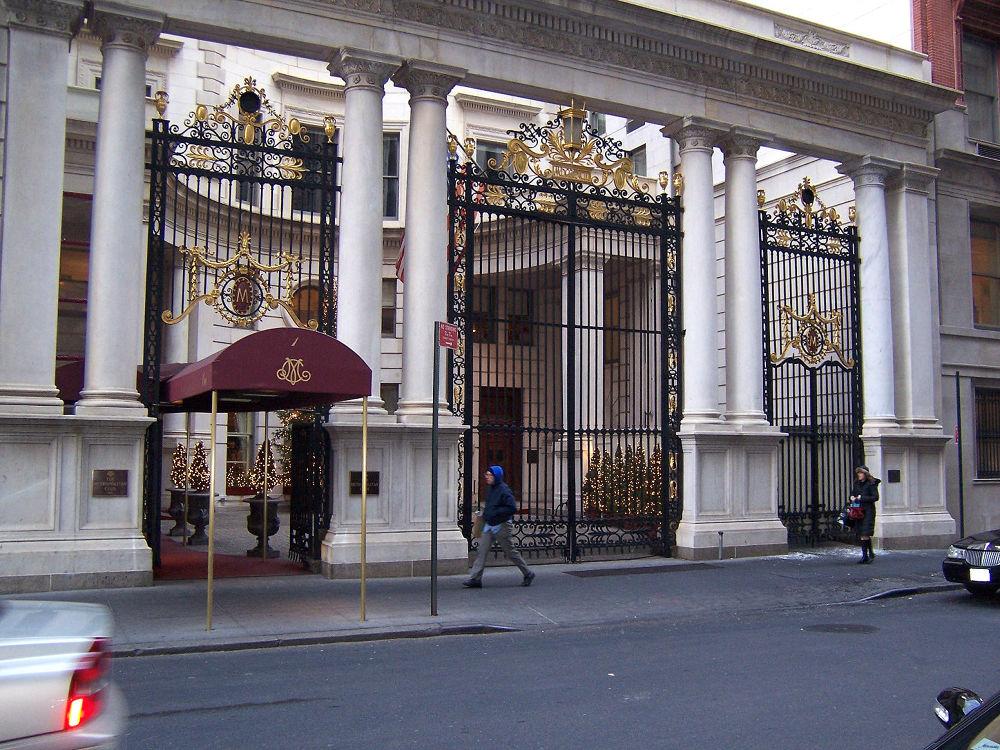 Metropolitan Club entrance  by Jozef Kujundzic