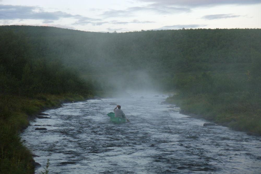 Photo in Nature #canoe #river #kano #elv