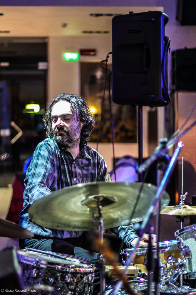 Paolo Mozzoni Drummer by Giuse Rossetti