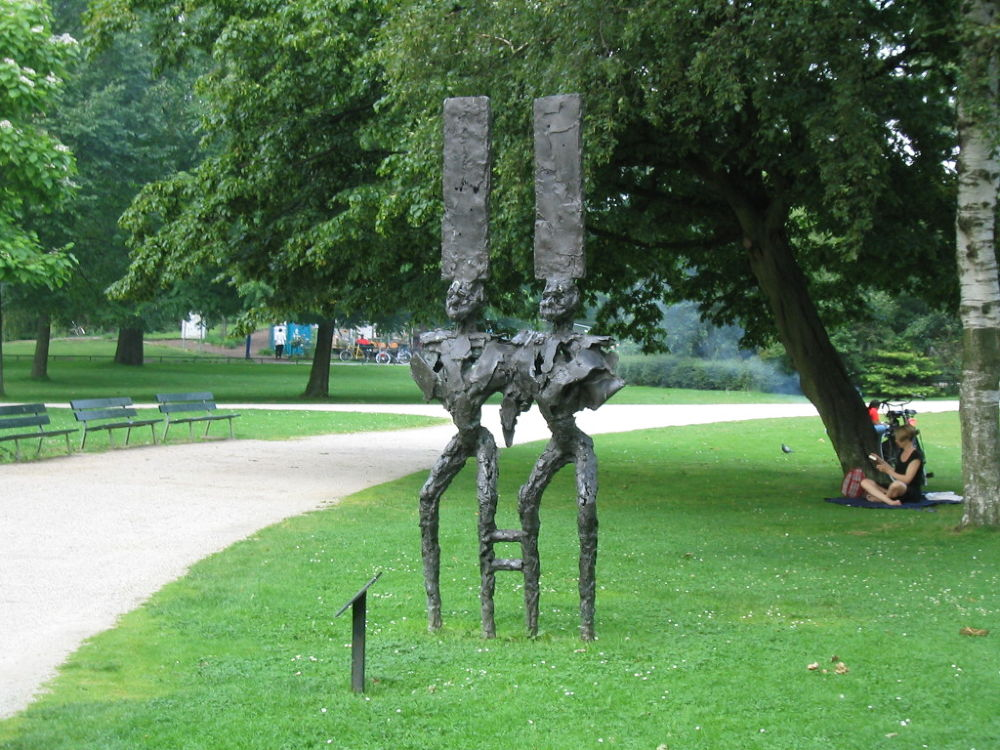 Art in Westerpark, Amsterdam by Tanja Henn