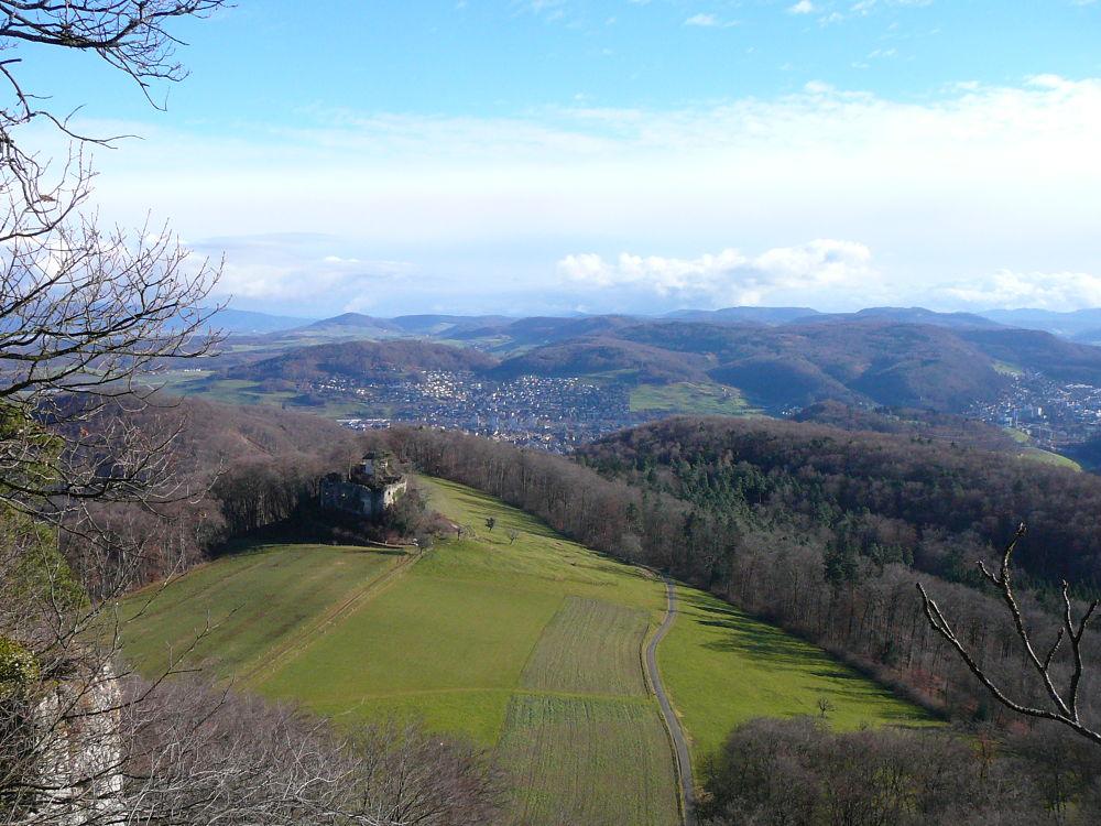 panorama auf frenkendorf by percy ottinger