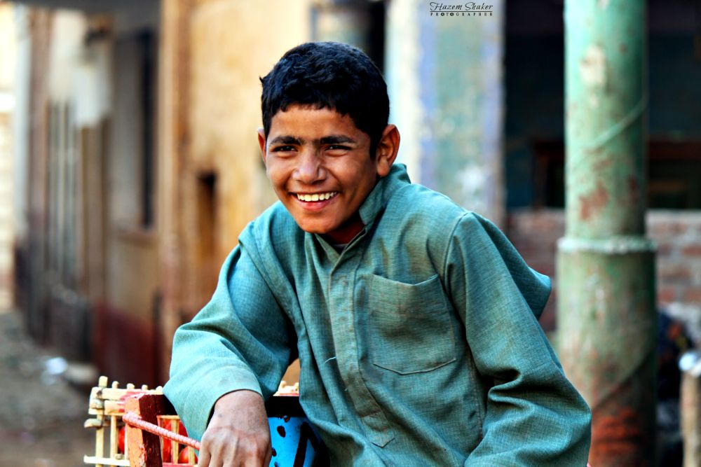 poor boy :( by Hazem Shaker