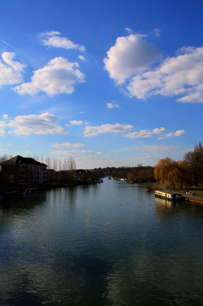 Thames in Reading by TomPiotrowski