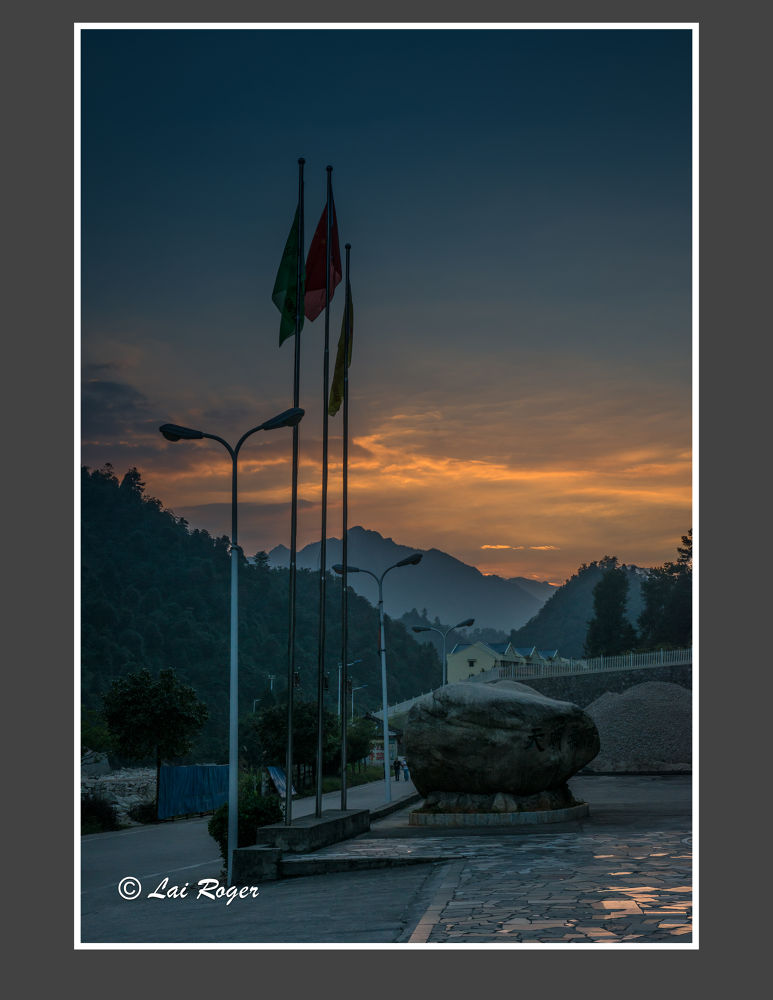 Sunset Outside the Hotel_621 by RogerLai