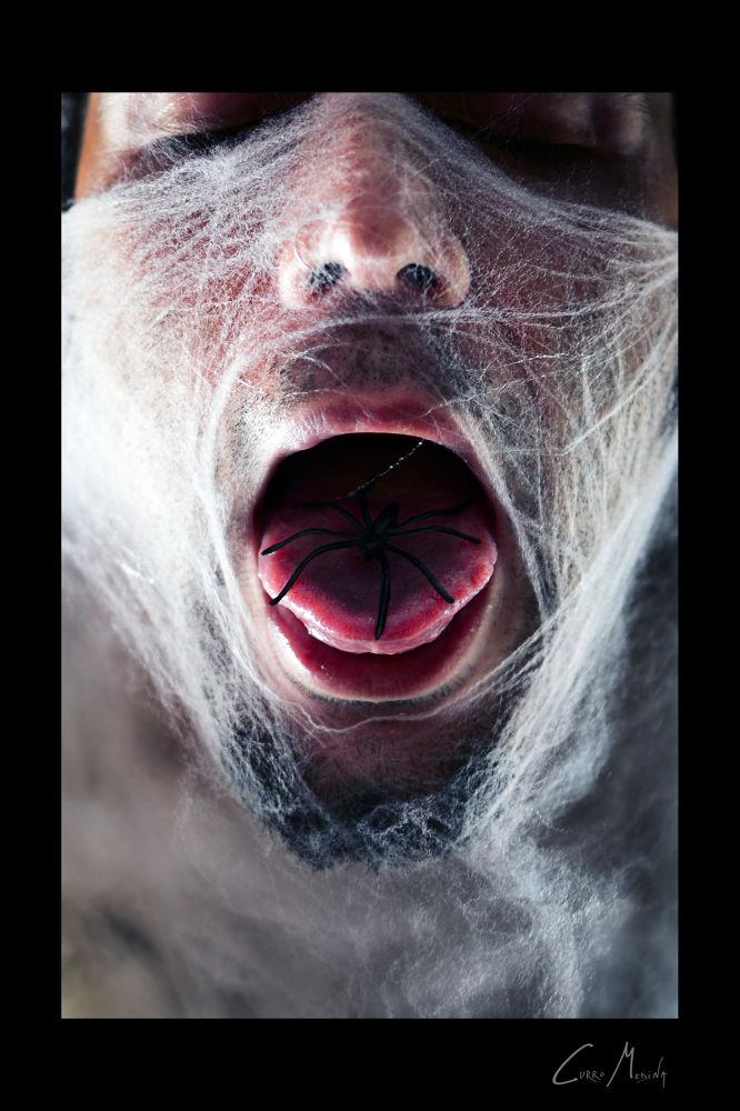 Spider inside. by Curro Medina