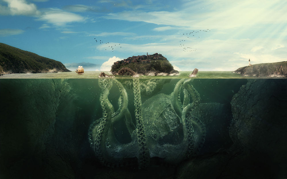 unleash the kraken by Kayman_Studio