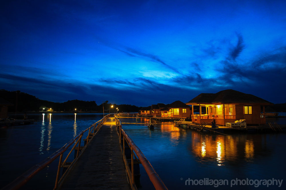 Twilight at Grace Island, Ambulong, Occ Mindoro, Phils by RHOEL ILAGAN