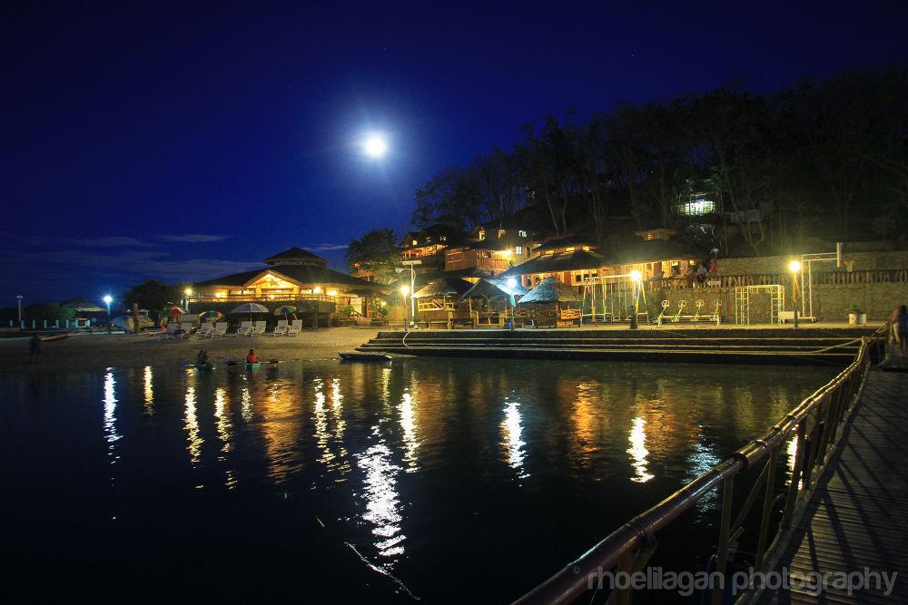 Main villa of Grace Island, Ambulong, San Jose, Occ Mindoro, Phils by RHOEL ILAGAN