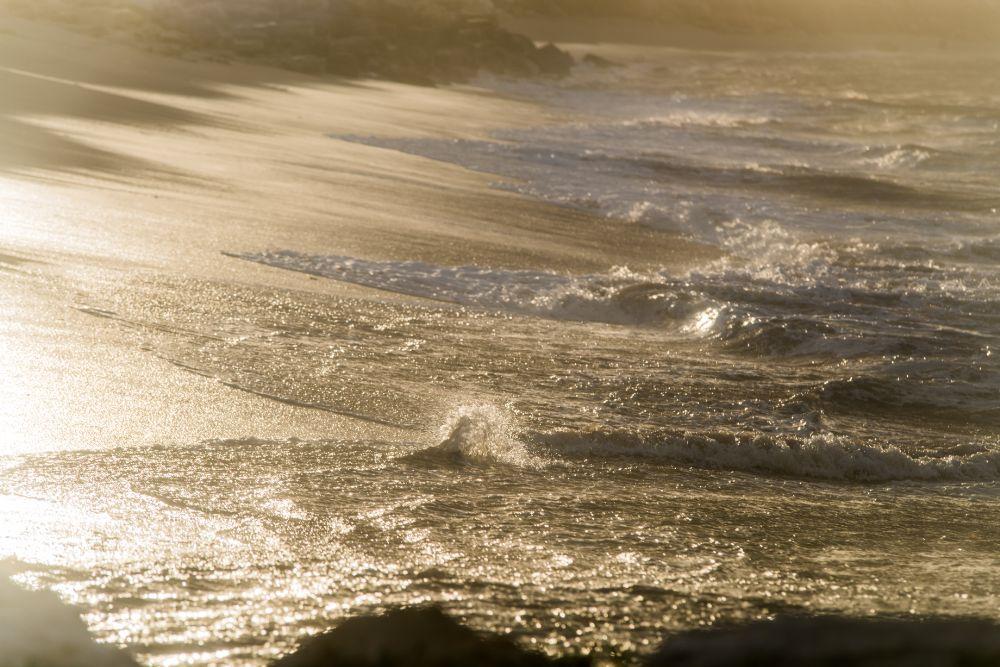 Sea surf by Michael Goyberg