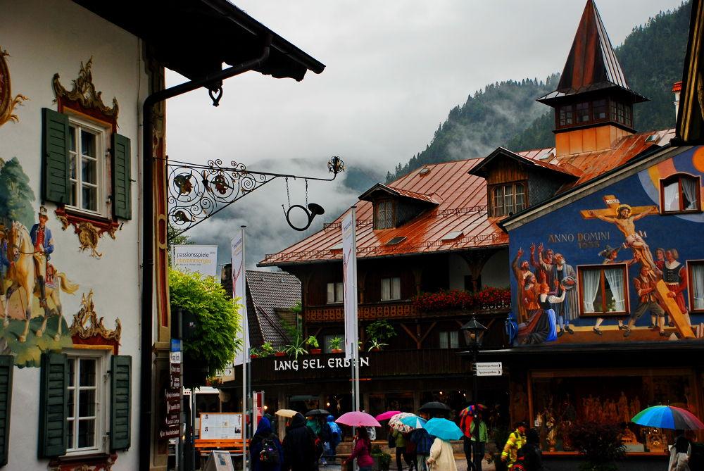 Oberammergau Passion play village by madeleine luyt