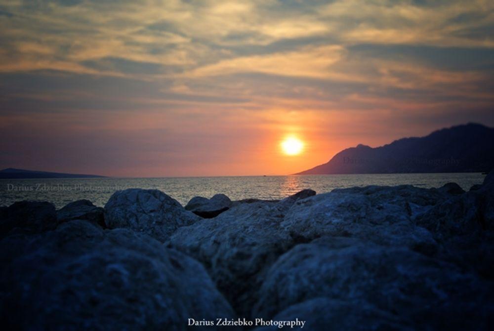 Baška Voda, Croatia by darius_zdziebko