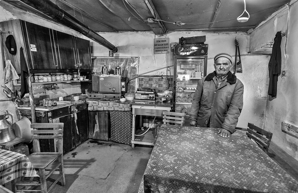 Village coffeehouse by KafkasyAli