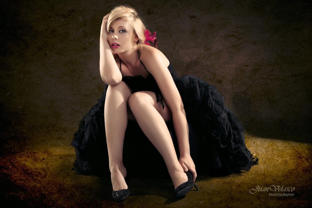 Photo in Portrait #velasco #juan velasco #beauty #blonde