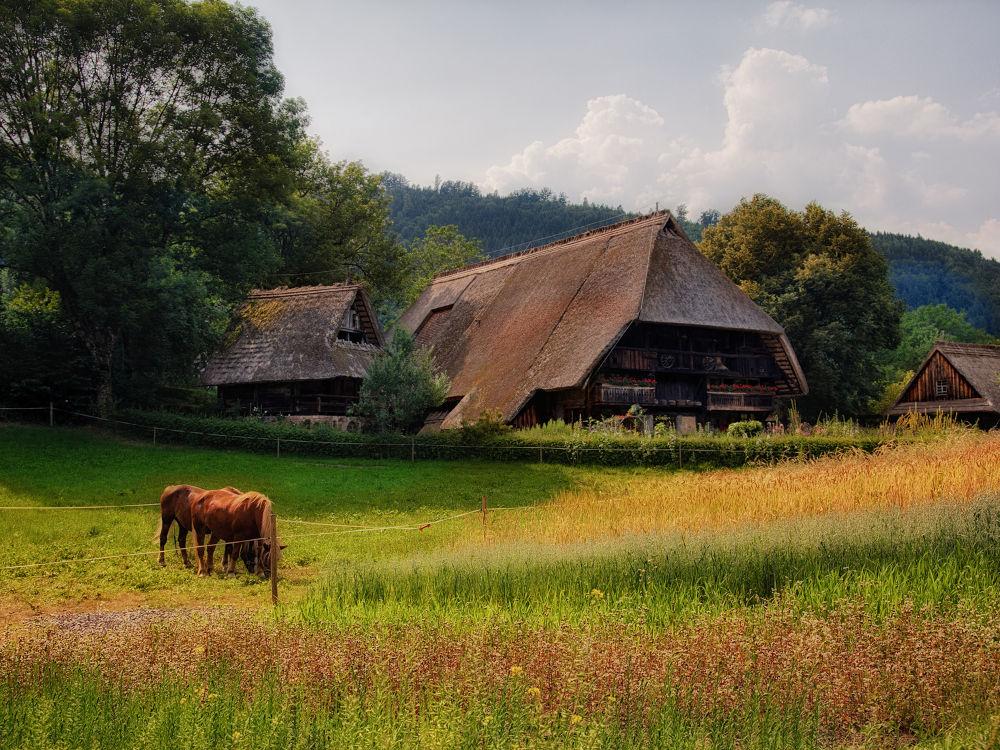 Farmhouse Schwarzwald Germany by Maruscik_Photography