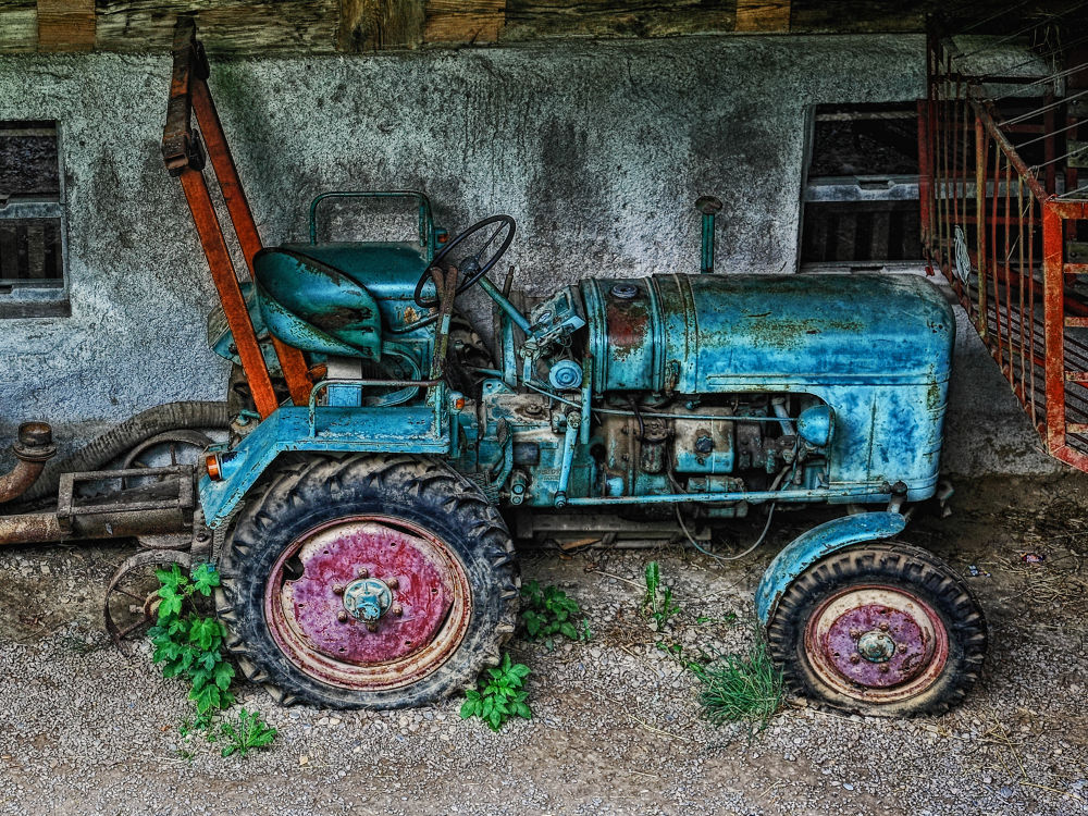 Old junk Schwarzwald Germany by Maruscik_Photography