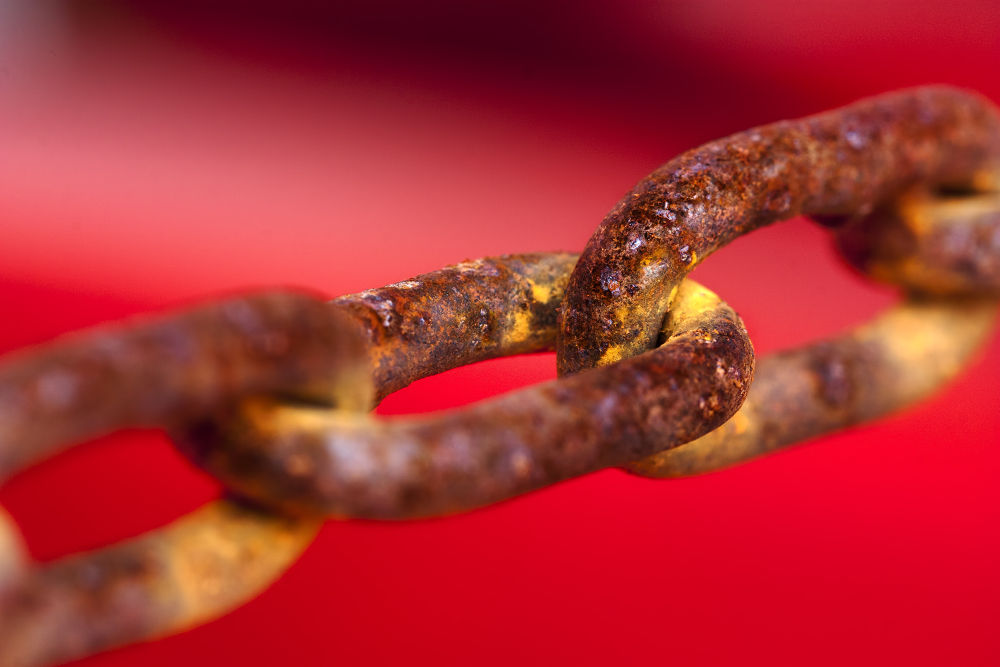 Photo in Macro #ypa2013 #macro #chain #oxide