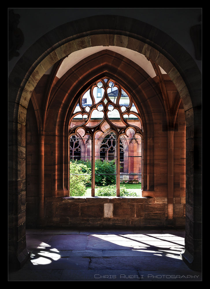 Photo in Architecture #basel #cathedral #münster #kreuzgang #cloister #switzerland