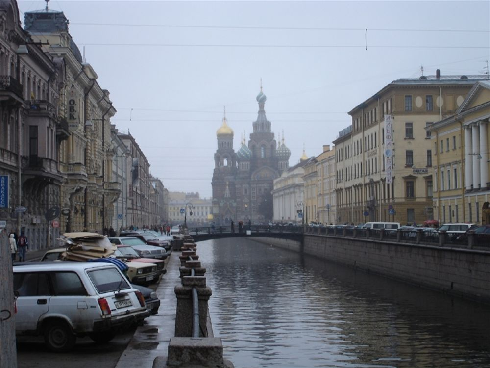 Saint_Petersburg_Griboedov_Canal by travelpic