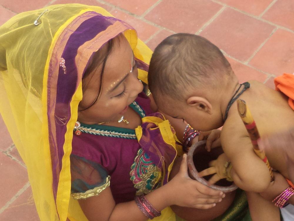 Photo in Random #child #kannan #radha