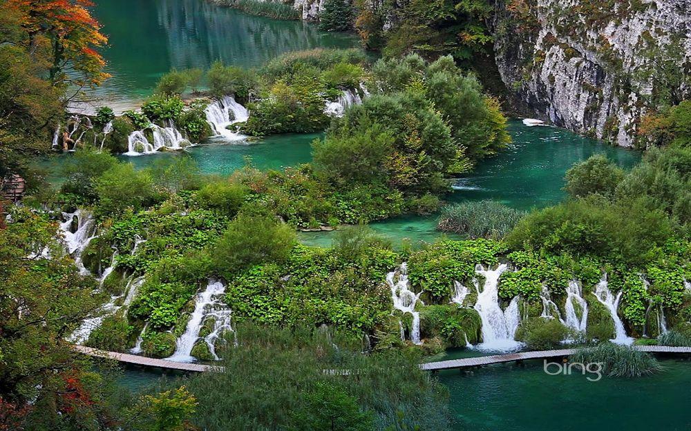 Plitvice Lakes National Park, Croatia (@ Clipcanvas) by igormuzic