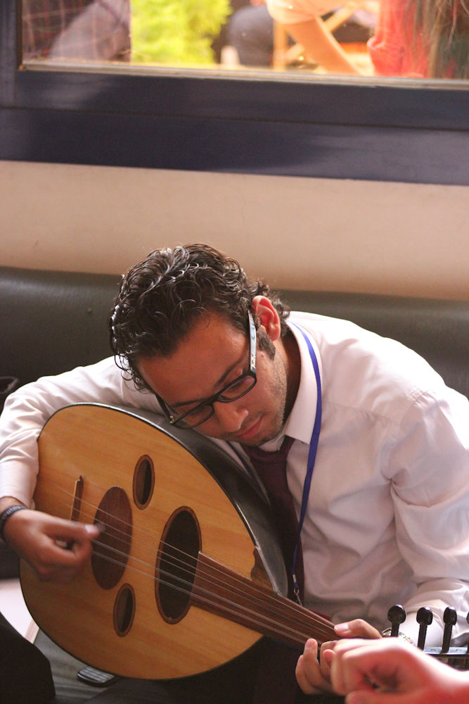 David and his oud by khalidmohy