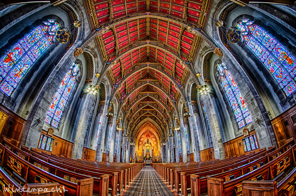Queen of all Saints Basilica by Raf Winterpacht