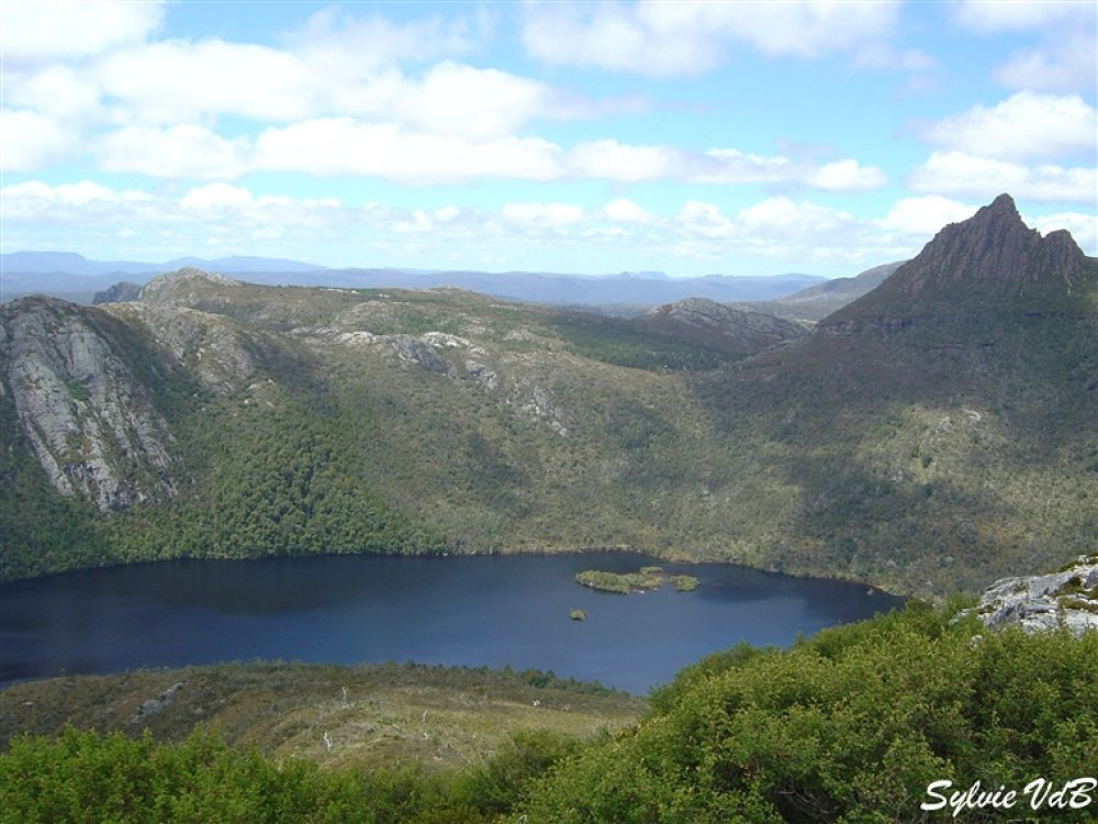 Australia Cradle Mountain Lake 2 Tasmania by sylvievdbphotography