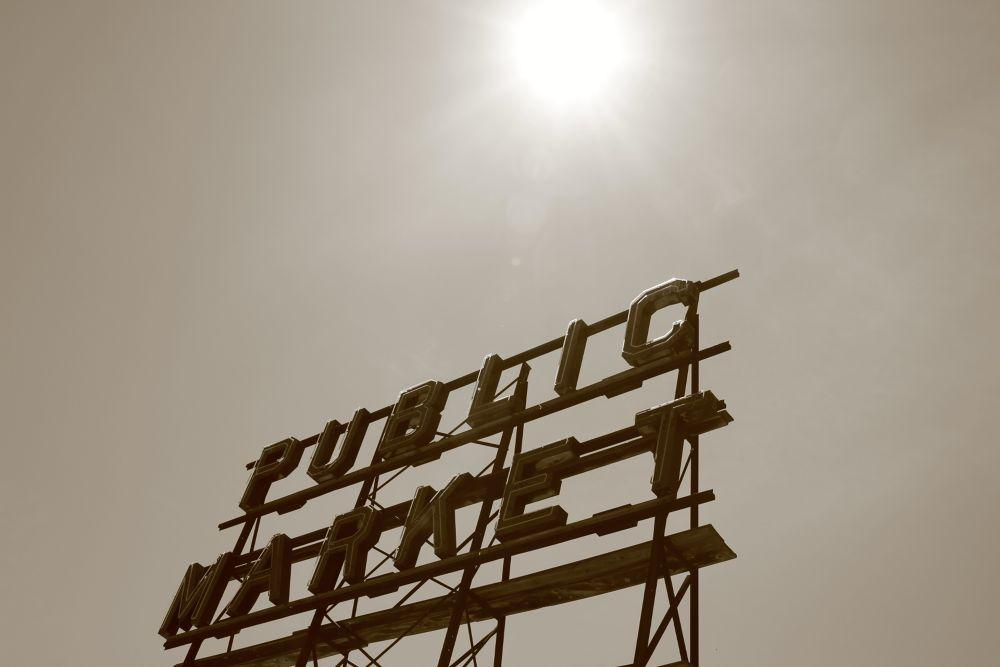 Sunlit Seattle by Krishnan Vaitheeswaran